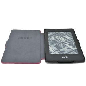 Купить Обложка для Amazon Kindle Paperwhite slim case Малиновая за 0 руб.