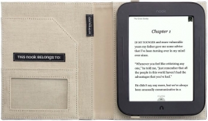Купить Обложка для Nook 2 «The Simple Touch Reader» Jonathan Adler Punctuation Cover in Black за 0 руб.
