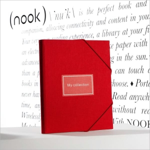 Купить Обложка для Nook 2 «The Simple Touch Reader» Lyndon Cover in Crimson за 0 руб.