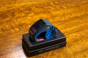 Купить Часы Nike+ Sports Watch GPS Anthracite-Blue за 0 руб.