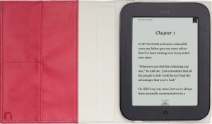 Купить Обложка для Nook 2 «The Simple Touch Reader» Anderson Quote Cover in Vivid Pink за 0 руб.