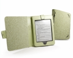Обложка Tuff-Luv Natural Hemp для Amazon Kindle Touch (Book Style) - Зеленая