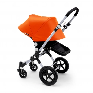Купить Коляска 2в1 Bugaboo Cameleon 3 2014 Extendable All Black-Orange за 67990 руб.