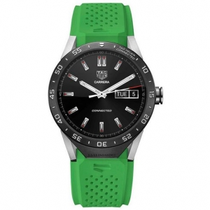Купить Часы Tag Heuer Connected Green Strap за 72000 руб.