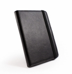 Кожаная обложка Tuff-Luv 'Book-Stand' для Amazon Kindle Touch/Sony PRS-T1/PocketBook 611 - Чёрная